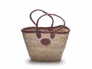 Rustic Long handled basket
